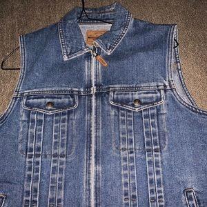 RALPH LAUREN oversized jean vest!